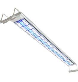 vidaXL Aquarium LED-lamp 120-130 cm aluminium IP67