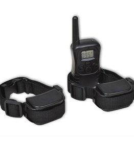 vidaXL Trainingshalsband + 2 E-halsbanden en op afstand bedienbare anti-blaf