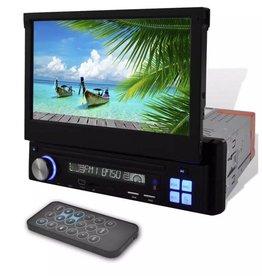 "vidaXL Autoradio MP3 / MP5 / FM / Bluetooth en meer + 7"" HD touchscreen"