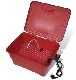 vidaXL Draagbare 25 L onderdelen schoonmaker met elektrische pomp