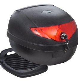 vidaXL Topkoffer voor motorfietsen 36 L voor 1 helm