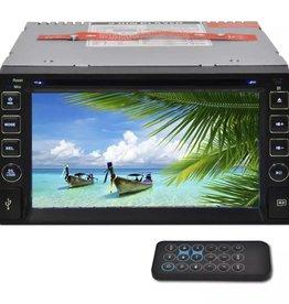"vidaXL Autoradio MP3 / MP5 / FM / Bluetooth en meer + 6,2"" HD touchscreen"