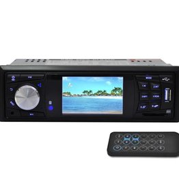 vidaXL Autoradio MP3 / MP5 / FM / Radio / Media speler met 3 Inch HD scherm