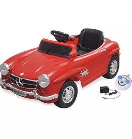 vidaXL Elektrische auto Mercedes Benz 300SL rood 6 V met afstandsbediening