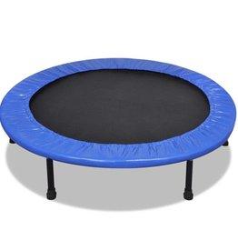 vidaXL Inklapbare mini trampoline 114 cm