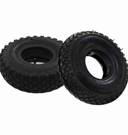 vidaXL Banden/binnenbanden voor steekwagens 3,00-4 260x85 rubber 2 st