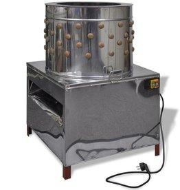 vidaXL Elektrische plukmachine voor pluimvee met 91 plukvingers 50 cm 1500 W