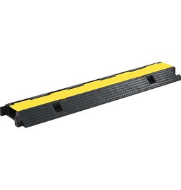 vidaXL Kabelbeschermer drempel 1 tunnel 100 cm rubber