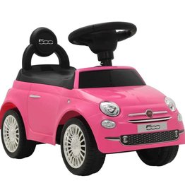 vidaXL Loopauto Fiat 500 roze