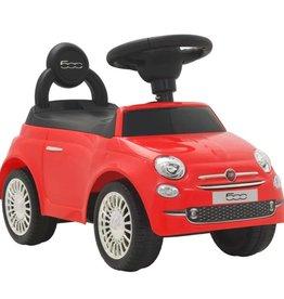 vidaXL Loopauto Fiat 500 rood