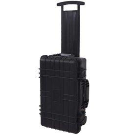 vidaXL Hardcase transportkoffer met wielen en schuimen binnenkant