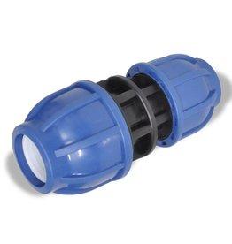 vidaXL PE slangkoppeling reductie koppelstuk 16 bar 25 > 20mm (2 stuks)
