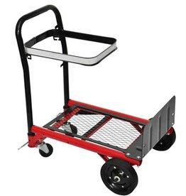 vidaXL Steekwagen/Transporttrolley inklapbaar