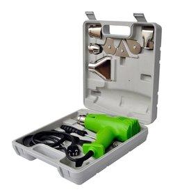 vidaXL Heteluchtpistool groen
