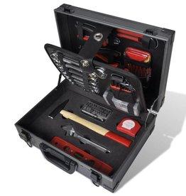 vidaXL 226-delige gereedschapskist in aluminium koffer