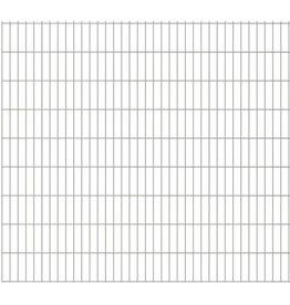 vidaXL Dubbelstaafmatten 2008 x 1830mm 50m Zilver 25 stuks