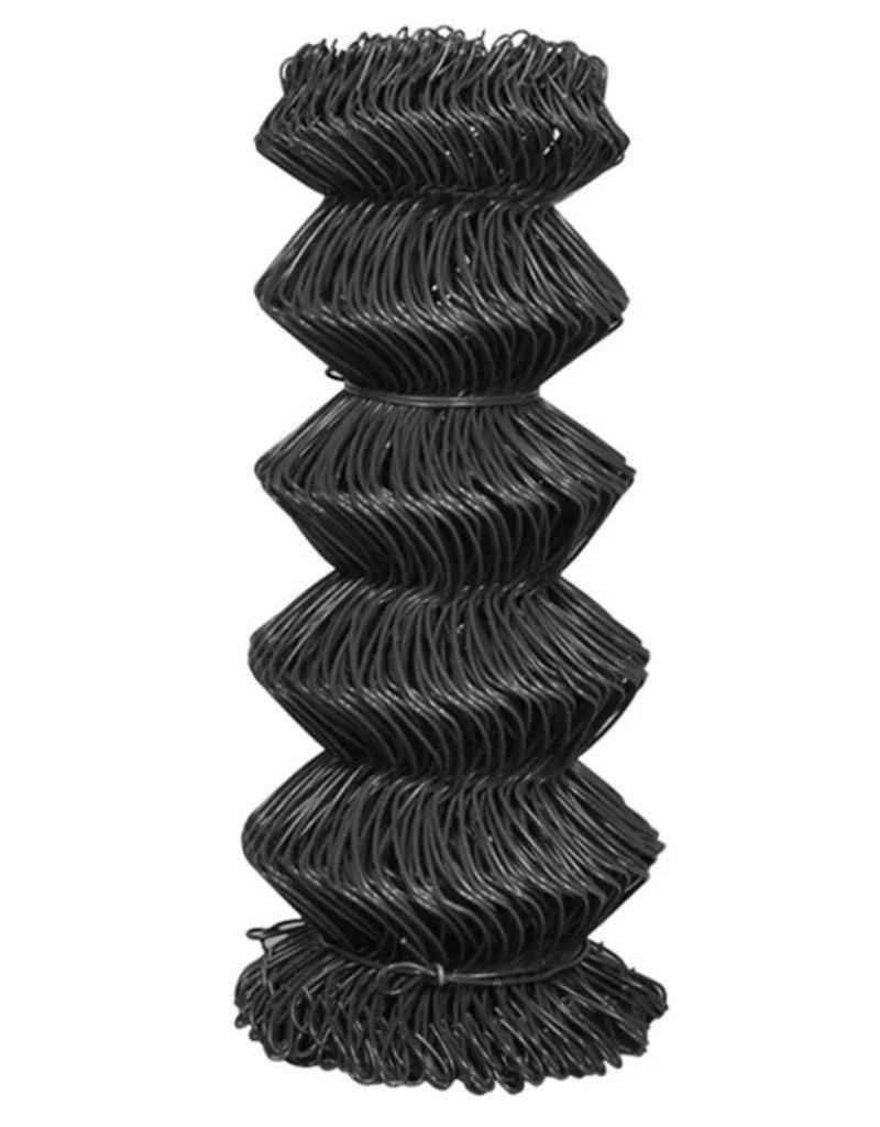 vidaXL Ketting hekwerk 15x0,8 m staal grijs
