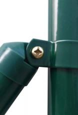 vidaXL Euro hek set 25x1,2 m staal groen