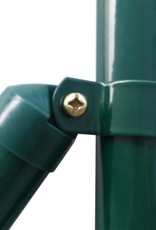 vidaXL Euro hek set 10x1,5 m staal groen
