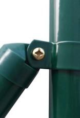 vidaXL Euro hek set 10x0,8 m staal groen