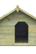 vidaXL Hondenhok met opklapbaar dak FSC geïmpregneerd grenenhout