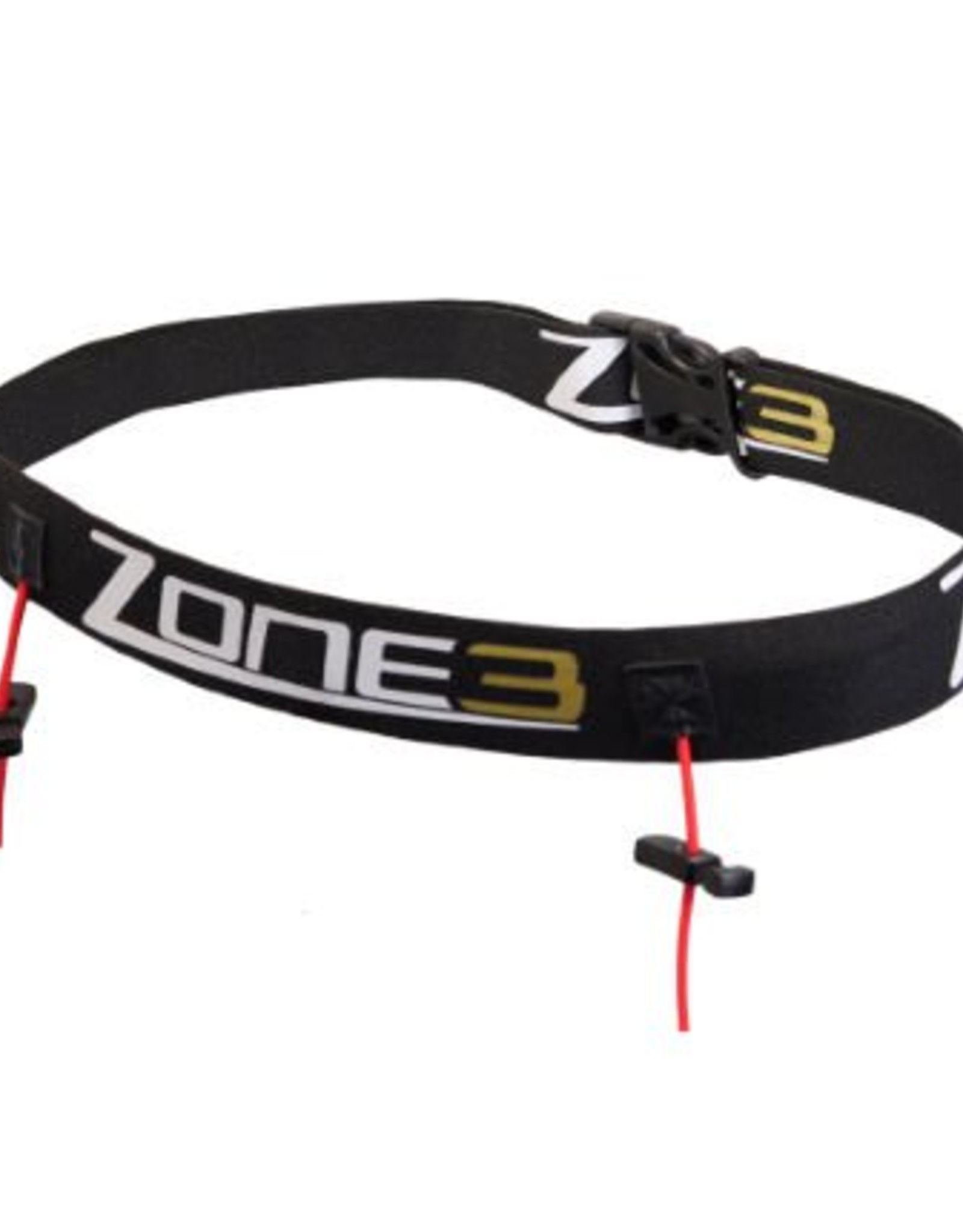 Zone 3 Race Number Belt