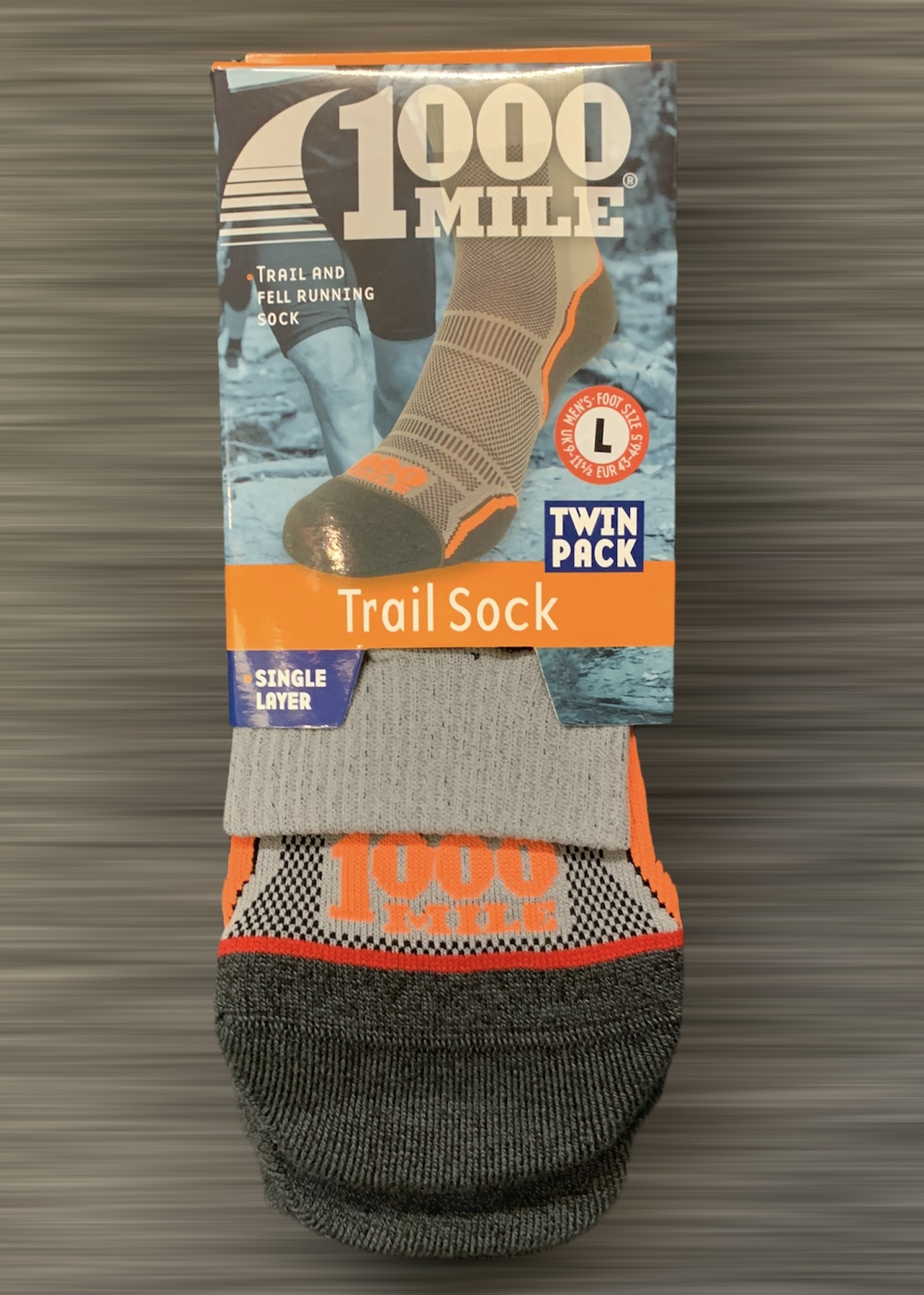 1000 mile 1000 Mile Trail Sock Twin Pack - Mens