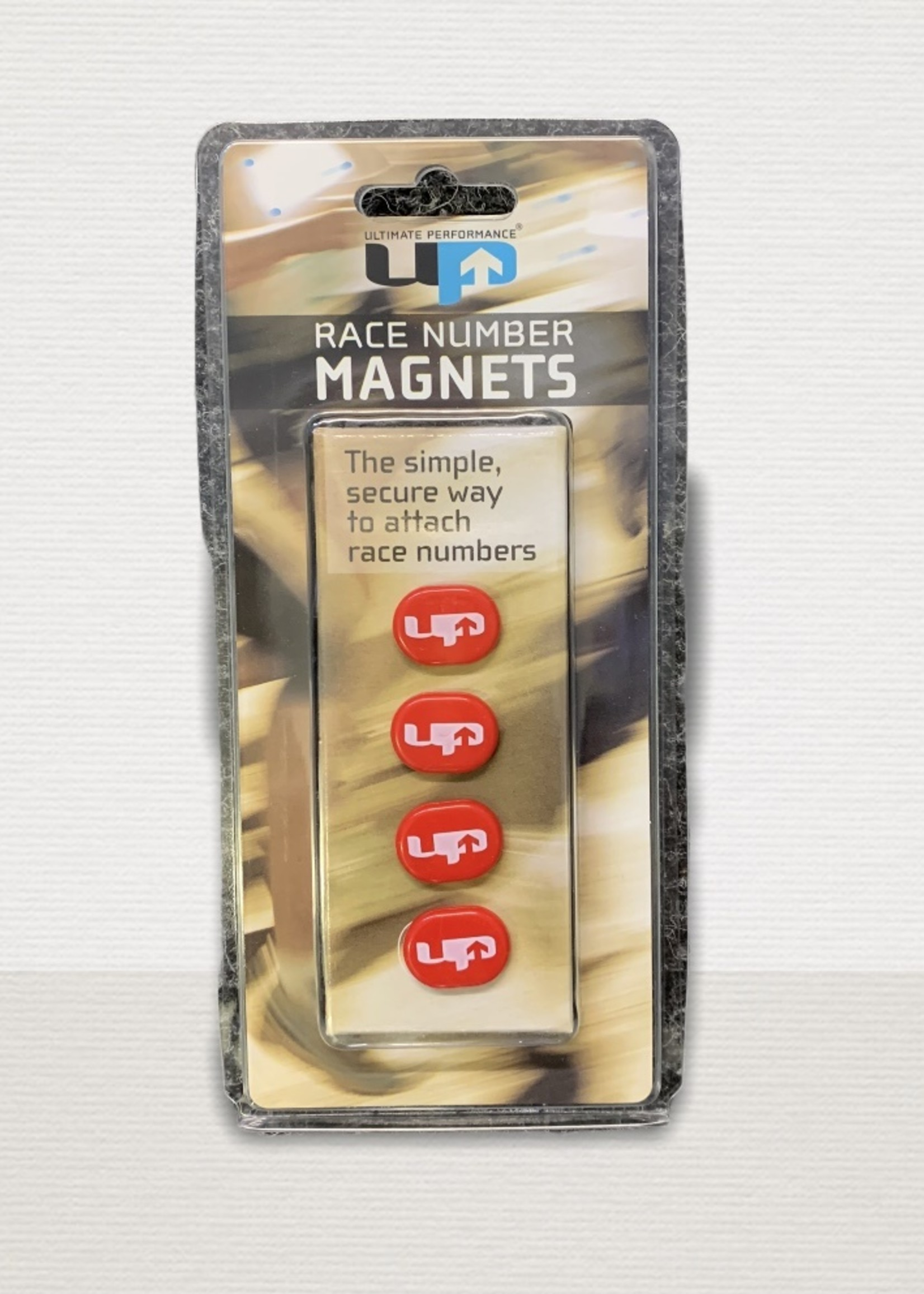 Ultimate Performance UP Race Number Magnets