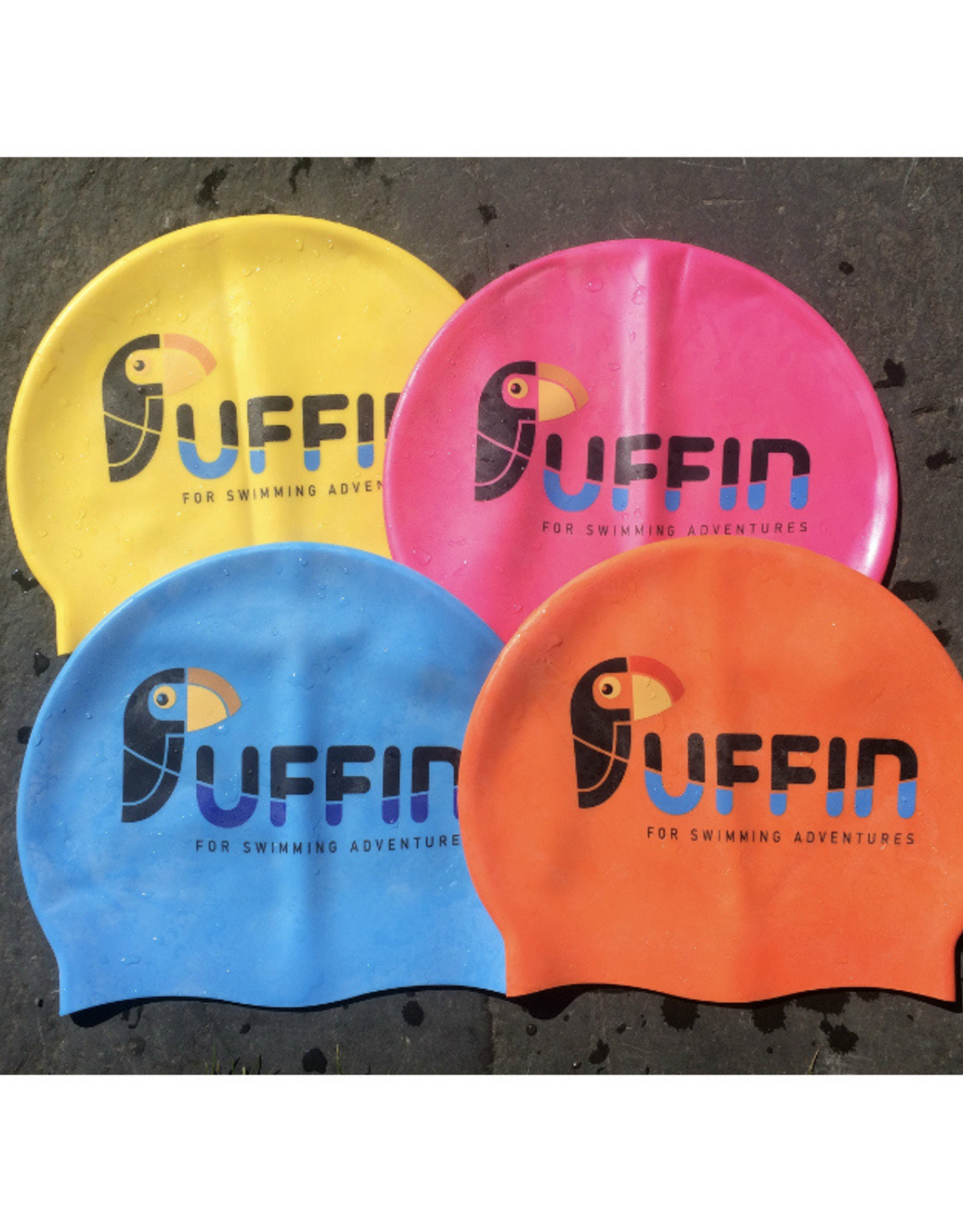 Puffin Puffin Swim Cap