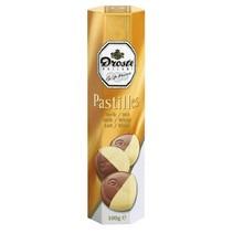 Droste Chocolade Pastilles Koker Melk/Wit 100 Gram