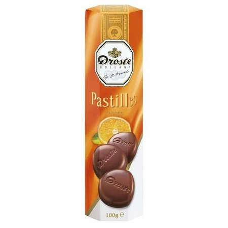 Droste Droste Chocolade Pastilles Koker Orange 85 Gram