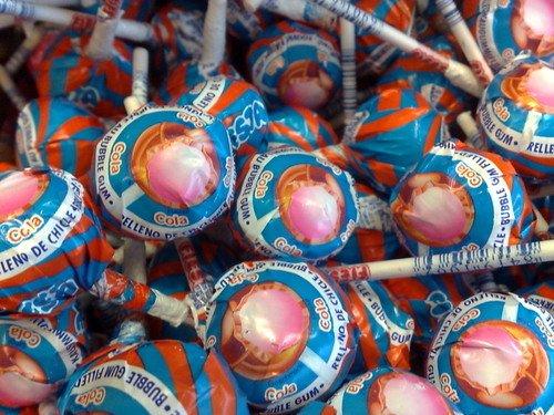 Mister Bubble Mister Bubble Cola Kauwgom Lollie 8 Stuks