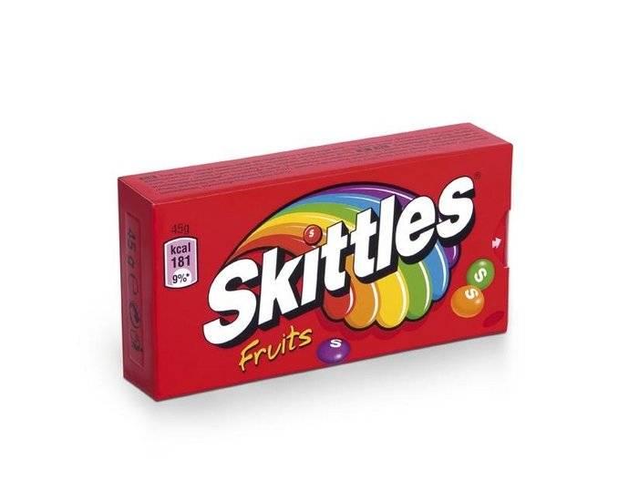 Skittles Skittles Fruit 45 Gram