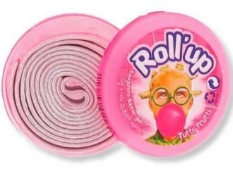 Lutti Rollup Tutti Frutti Kauwgom