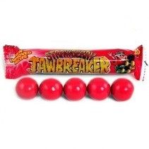 Zed Jawbreaker Strawberry Kauwgomballen