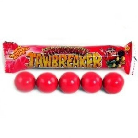Zed Candy Zed Jawbreaker Strawberry Kauwgomballen