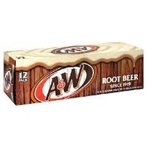 A&W Root Beer 355ml 12 Blikjes