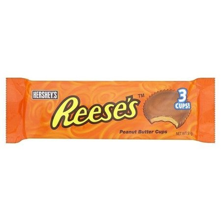 Reese's Reese's Cups Peanut Butter 3 Cups 51 Gram