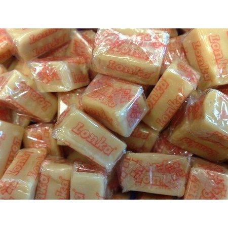 Lonka Lonka - Caramels Vanille Amandel Soft Toffees 250 Gram