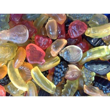 De Bron De Bron - Winegums Fruit Suikervrij 200 Gram