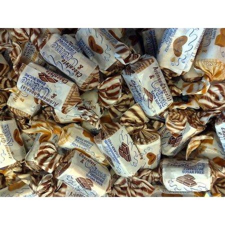 De Bron De Bron - Caribean Cream Toffees Suikervrij 200 Gram