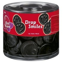 Red Band Drop Smiles 100 Stuks 1180 Gram