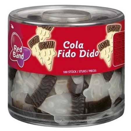 Red Band Red Band Fido Dido Cola 1100 Gram 100 Stuks