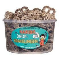 Haribo Silo Drop Krakelingen 150 Stuks 1050 Gram