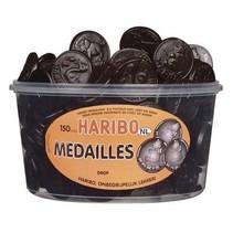 Haribo Silo Drop Medailles 150 Stuks 1350 Gram
