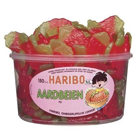 Haribo Haribo Silo Winegum Aardbeien 150 Stuks 1350 Gram