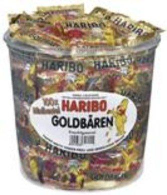 Haribo Haribo Silo Goudbeertje Zakjes 100 Stuks