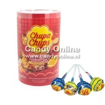 Chupa Chups - Lolly's Cola/Cola Lemon 100 Stuks