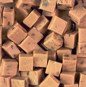 Lonka Lonka Fudge Rum/Rozijn 250 Gram