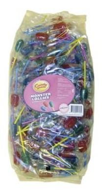 Candyman Candyman - Monster Lollies 175 Stuks